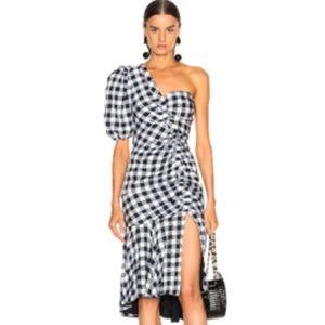 Jonathan Simkhai Gingham Dress NWT